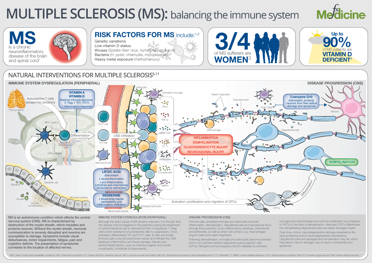 what chromosome is multiple sclerosis on