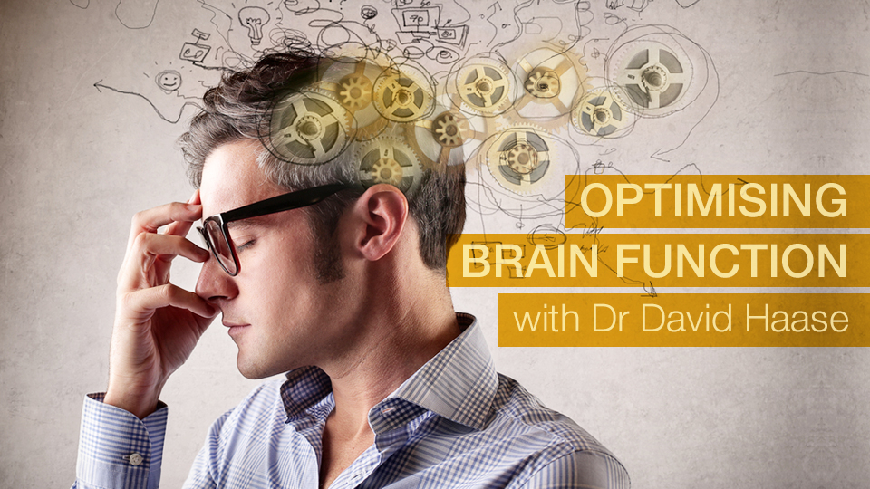 Optimising Brain Function with Dr David Haase