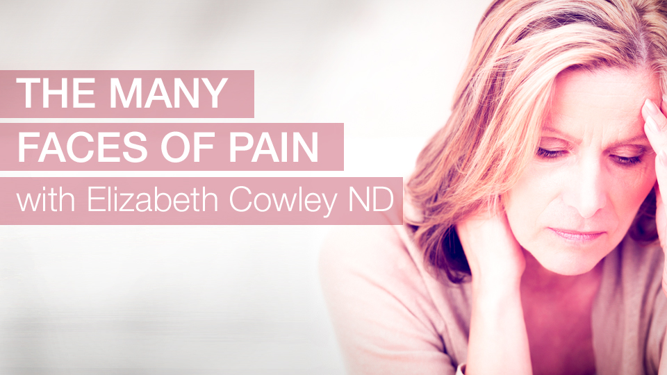 The Many Faces of Pain with Elizabeth Cowley