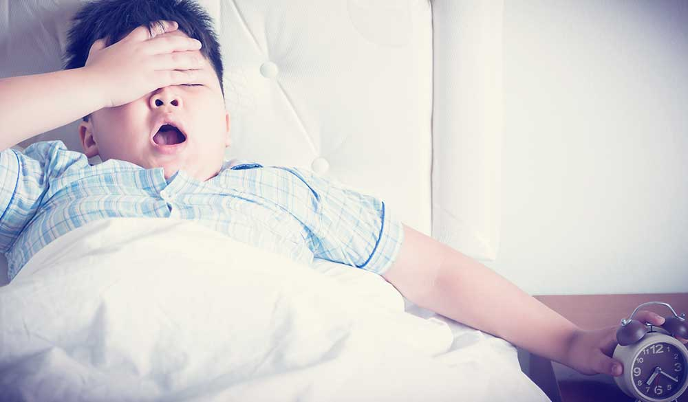 Sleep quality and childhood obesity
