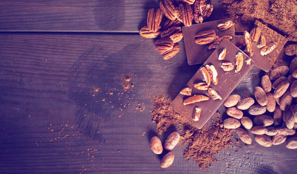 Chocolate and nuts, sources of arginine for viral replication