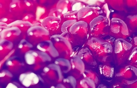 Pomegranate for strep and staph infections
